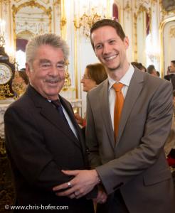 President Dr. Heinz Fischer, Dr. Bernd Resch
